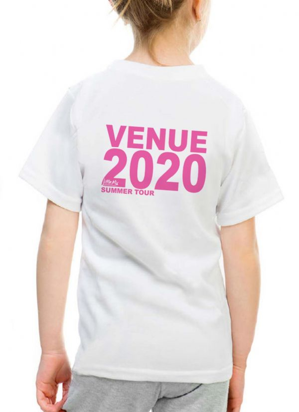 Little Mix Personalised SUMMER TOUR T-shirt 2020